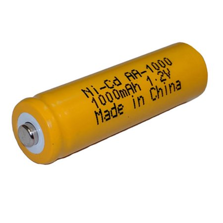 Nickel Cadmium Battery 1.2v 1000mah | BGN800B (Rechargeable) Rechargeable Nickel Cadmium Handle
