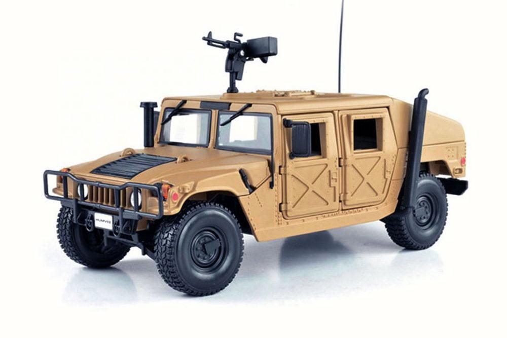 Hummer Humvee, Sand Maisto 31974 1 27 Scale Diecast Model Toy Car by Maisto