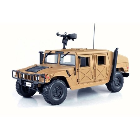 Hummer Humvee, Sand - Maisto 31974 - 1/27 Scale Diecast Model Toy Car