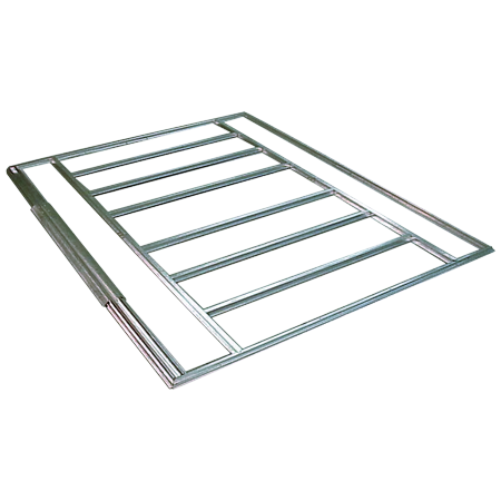 Shed Floor Frame Kit for 10 x 11 ft., 10 x 12 ft., 10 x 13 ft., 10 x 14 ft.