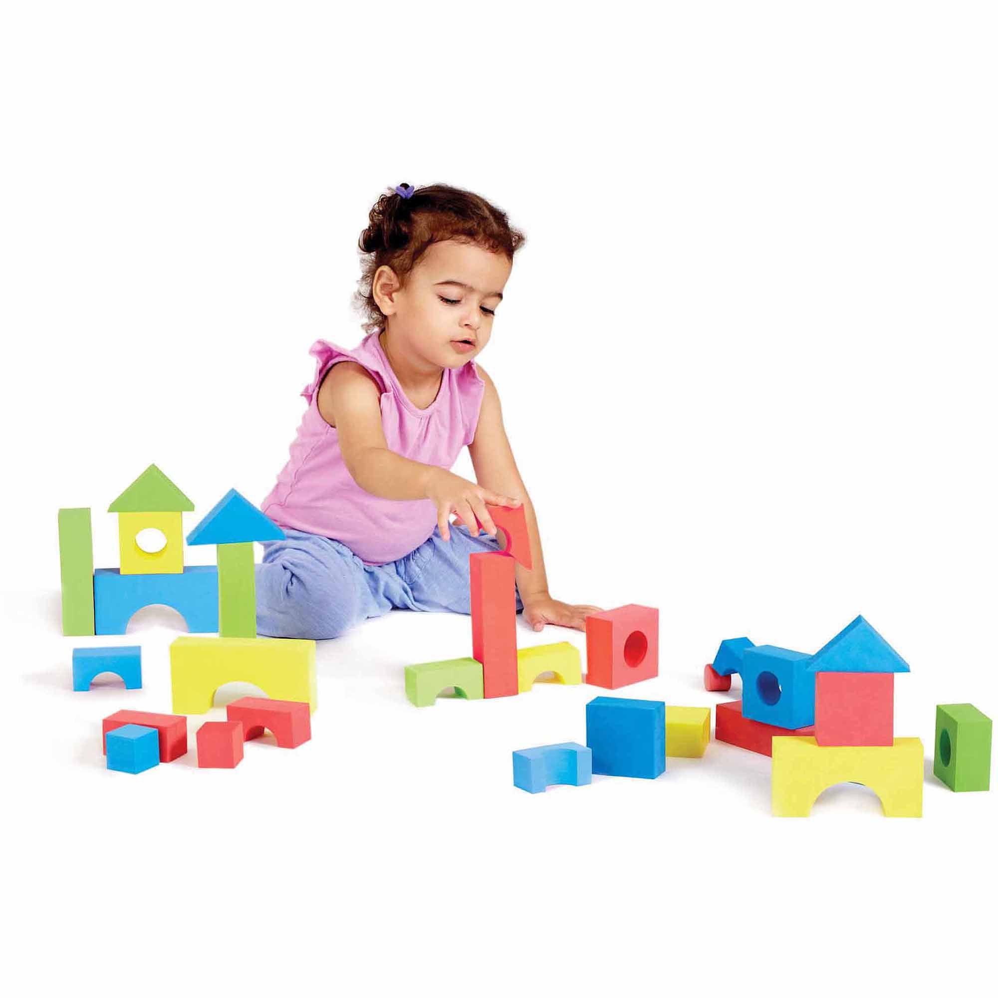 Educolor Blocks, 80 Pieces