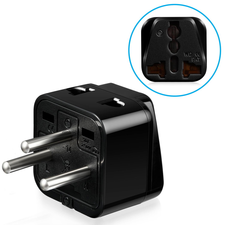 Fosmon Type H Universal Power Adapter - Black