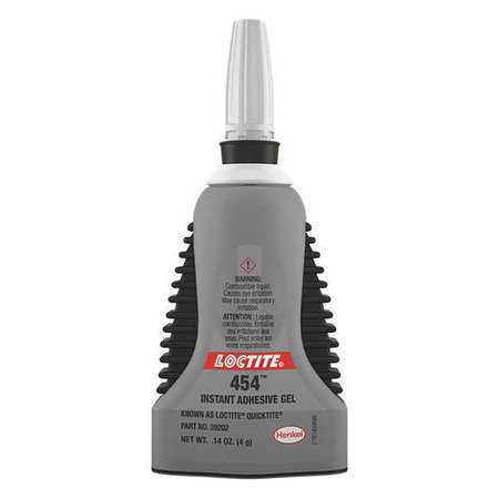 Loctite 39202 0.14 oz. Bottle Instant Adhesive, Clear