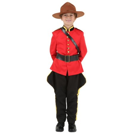 Child Canadian Mountie - Canada Costumes