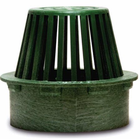 70 3 in. Green Flat Top Structural Foam Polyolefin Atrium Grate ()