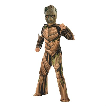 Marvel Avengers Infinity War Teen Groot Deluxe Boys Halloween Costume (Diy Halloween Costumes For Teenagers)