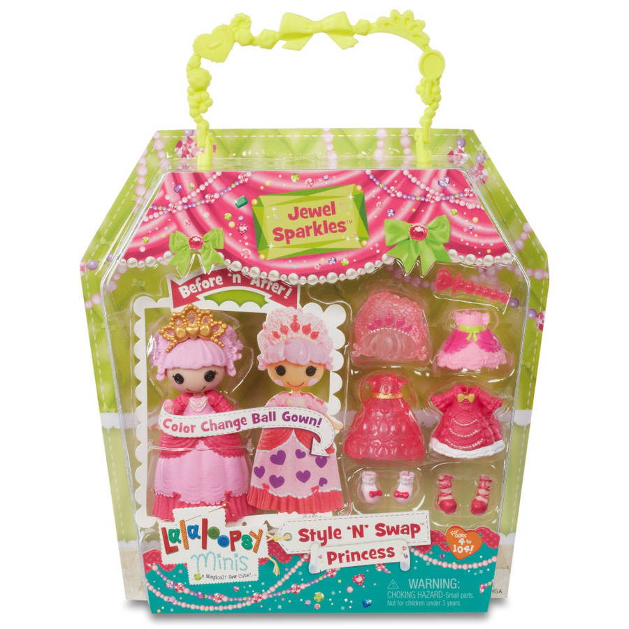 Mini Lalaloopsy Doll, Princess Jewel