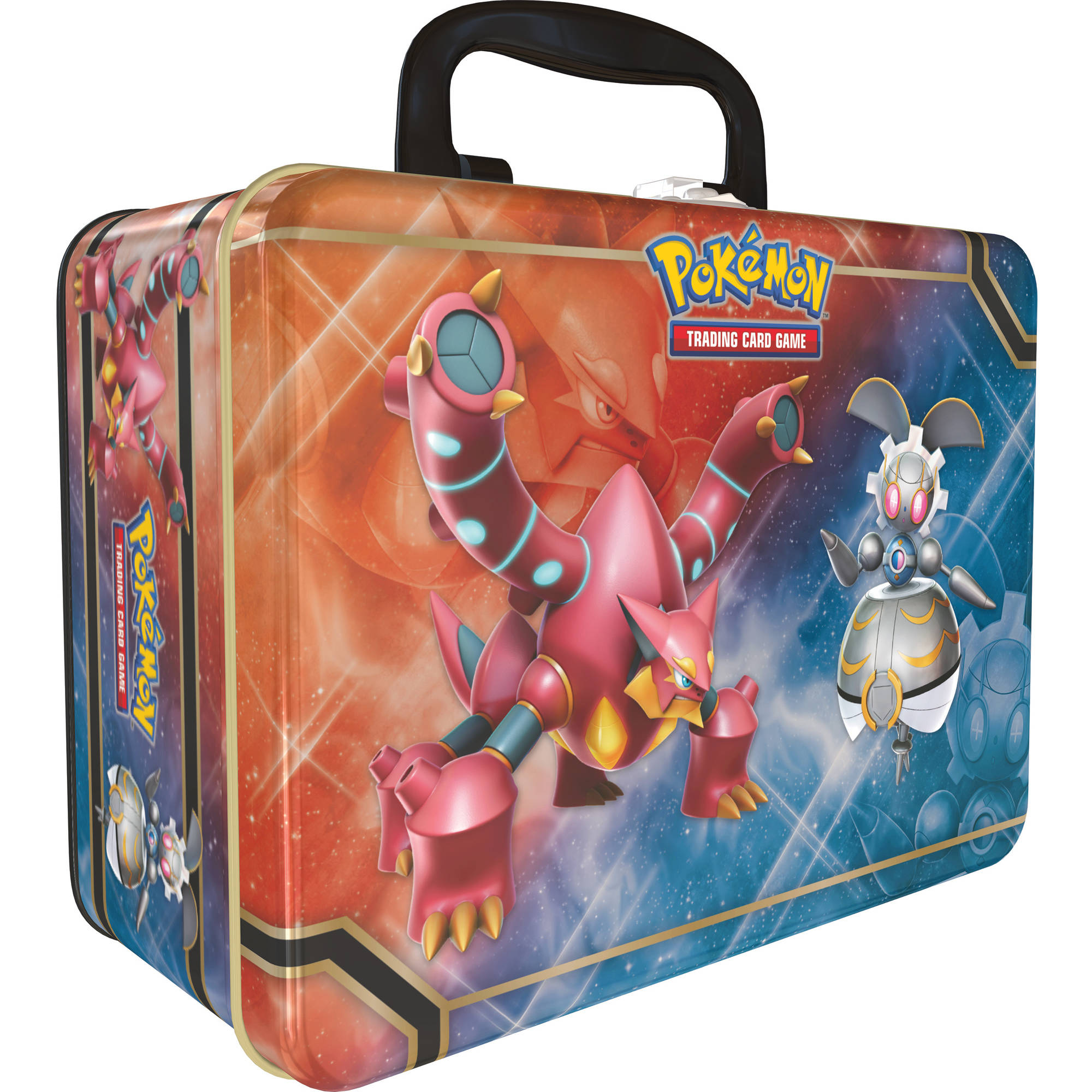 Pokemon Volcanion and Magearna Collector Chest Tin
