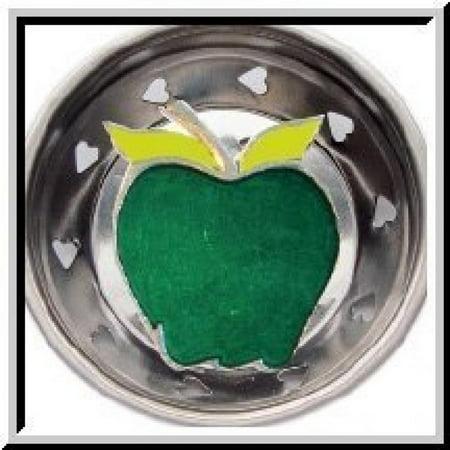 Enamel Strainer (Enamel Kitchen Strainer Green Apple )