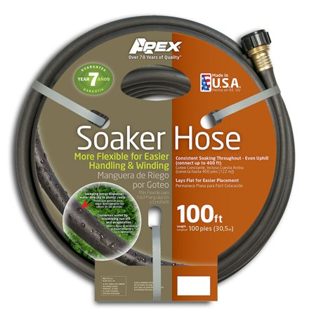 "Apex 1030 Soil Soaker 1/2"" x 100' Garden Hose"