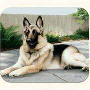 Fiddlers Elbow m2 German Shepherd-Porch Mouse Pad, Pack Of 2