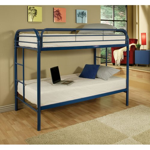Zoomie Kids Lafever Twin Over Twin Bunk Bed