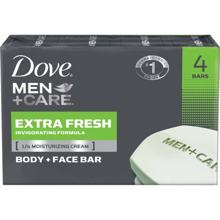 Men - Care Body -amp- Face Bar Extra frais 4 ch