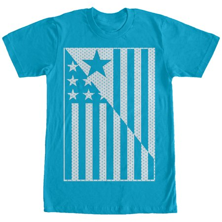 4e1c12e95db Lost Gods American Flag Jersey Print Mens Graphic T Shirt low-cost ...