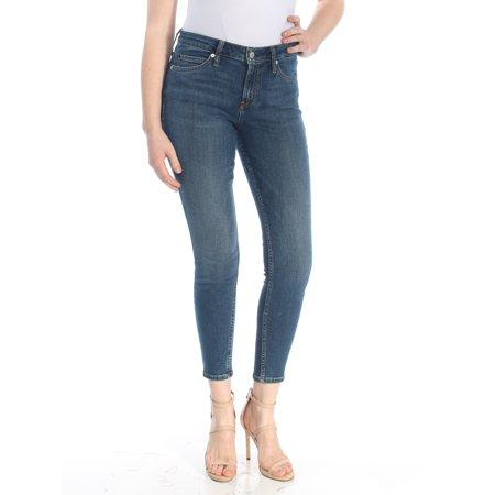 CALVIN KLEIN Womens Blue Skinny Jeans  Size: 25 Waist