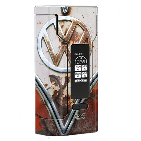 Skin Decal Vinyl Wrap For Wismec Predator 228 Vape Mod Stickers Skins Cover / Vw Bus Rust, Split Window