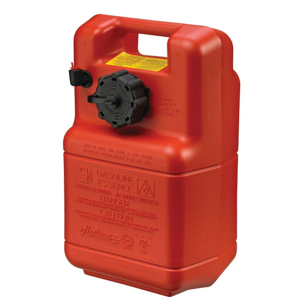 Scepter Neptune Portable 3 Gallon Fuel Tank, 08590, Red