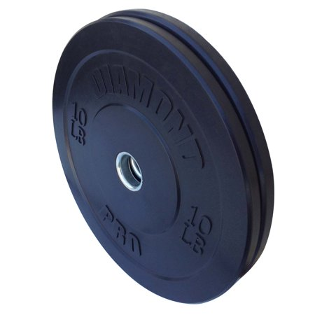 1 Lb Weight Plates (Diamond Pro 10 lb Black Bumper Plate Pair )