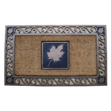 First Impression Natural Copper Finished Brush Doormat
