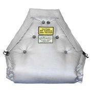 "Unitherm 12"" x 24"" Fiberglass Cloth Valve Insulation, IV2412"