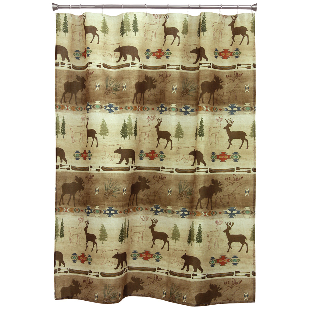 Highline Trail Shower Curtain