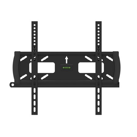 Monoprice Fixed Tv Wall Mount Bracket With Anti Theft Feature  Ul Certified  Max 99 Lbs  32 55 Inch  No Logo