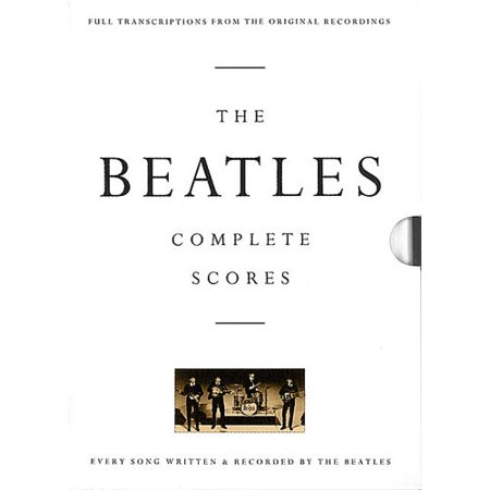 The Beatles: Complete Scores by