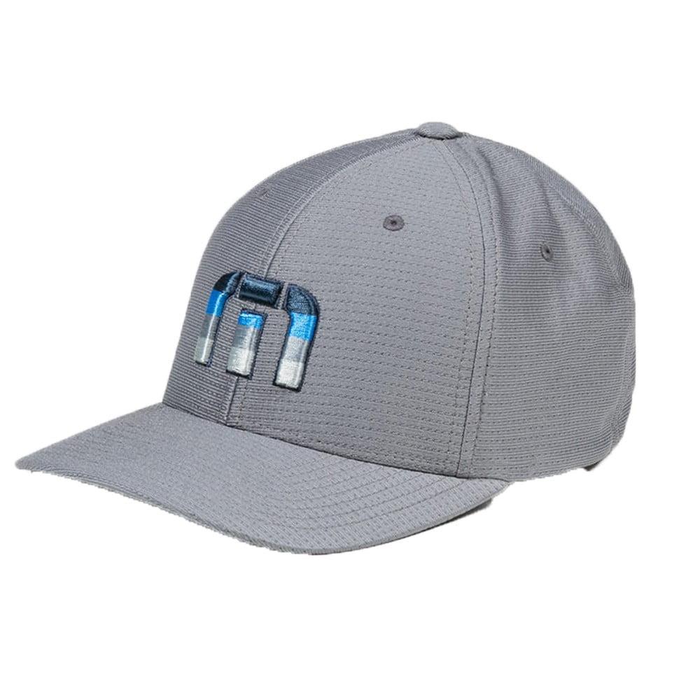 wholesale dealer d815a 3943e ... france new travis mathew hare flexfit fitted grey blue l xl hat cap  walmart 1f1d9 a1d9c