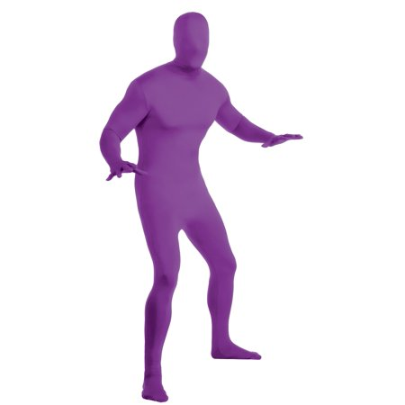 2nd Skin Suit Rave Jumpsuit Adult Unisex Disappearing Costume Body Spandex Lycra](Cheshire Cat Rave Costume)