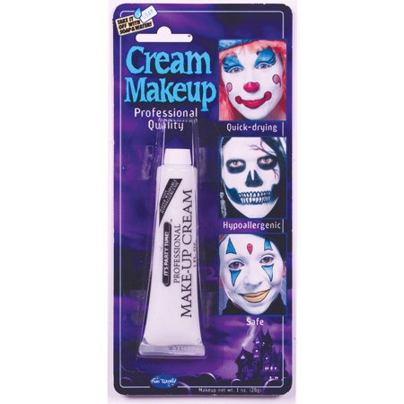 Professional Cream Makeup - White - Best Makeup To Use For Halloween