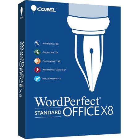 Corel WordPerfect Office X8 Standard - Upgrade