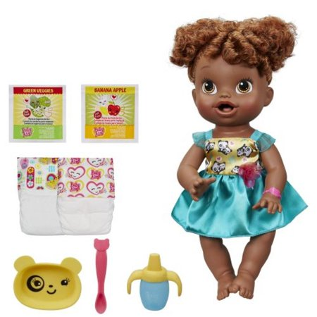 Baby Alive My Baby All Gone African-American Doll(Discontinued by (Hasbro Baby Alive My Baby All Gone)