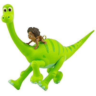 hallmark 2016 christmas ornament arlo and spot disney/pixar the good dinosaur - Dinosaur Ornament