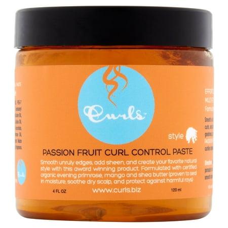 Curls Passion Fruit Curl Control Paste, 4 fl (3 Diamond Paste)