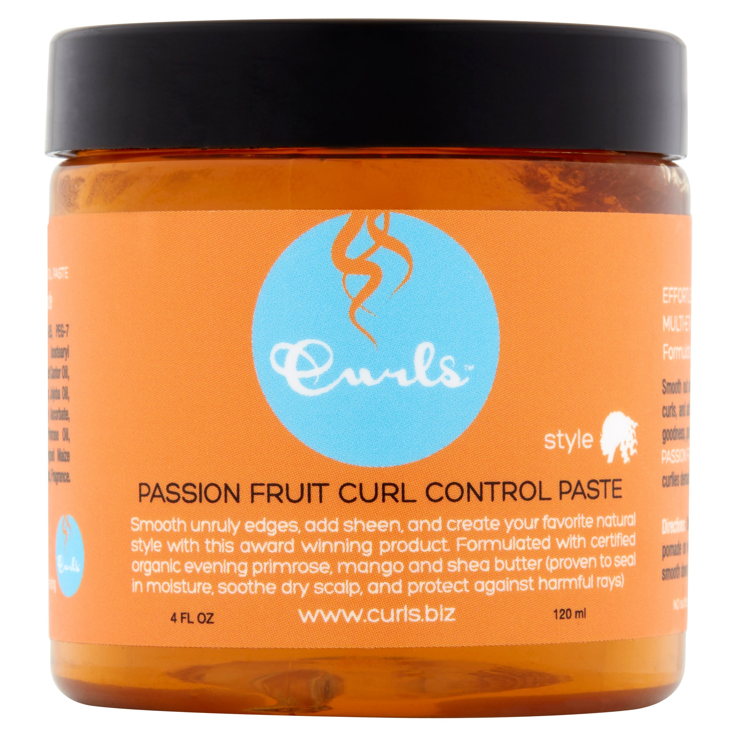 Curls Passion Fruit Curl Control Paste, 4 fl oz