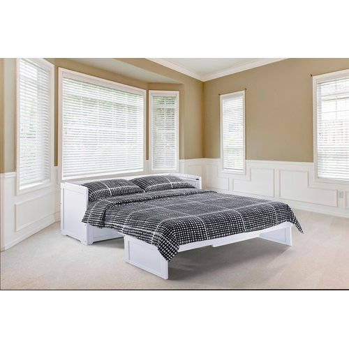 Canora Grey Barham Cube Queen Murphy Bed with Mattress