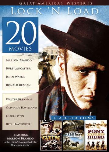 20-Film Great American Westerns: Lock 'N Load ( (DVD)) by Echo Bridge Home Entertainment