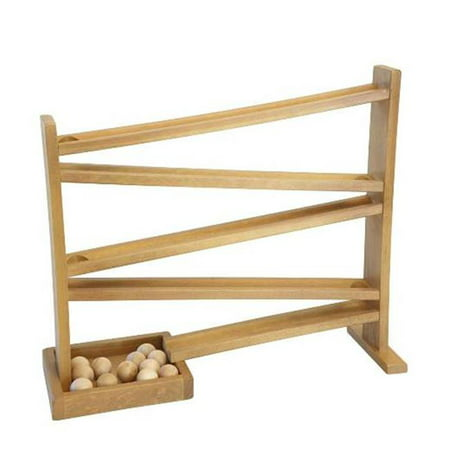Lapps Toys & Furniture 117 H Wooden Ball Roller Toy, Harvest ()