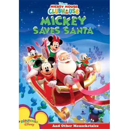 Mickey Mouse Clubhouse: Mickey Saves Santa (DVD) (Mickey Mouse Club Halloween Episode)