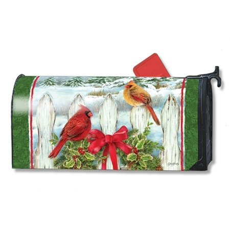 Magnet Works Winter Splendor Magnetic Mailbox Wrap Cover