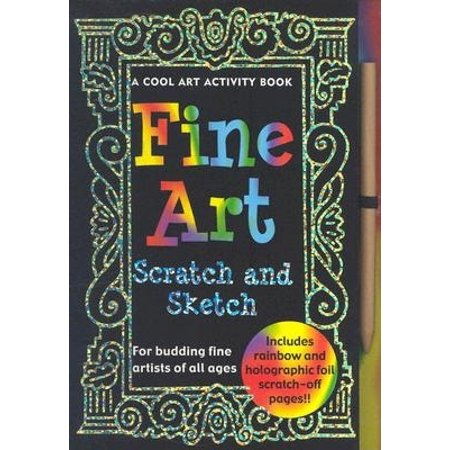 Activity Books: Scratch & Sketch Fine Art (Hardcover)