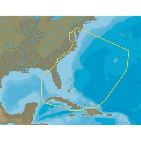 Bay Microsd - C-Map NA-Y063 NA Chesapeake Bay to Cuba - MicroSD & SD Card