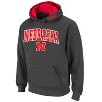 Nebraska Cornhuskers Stadium Athletic Arch & Logo Pullover Hoodie - Charcoal - M
