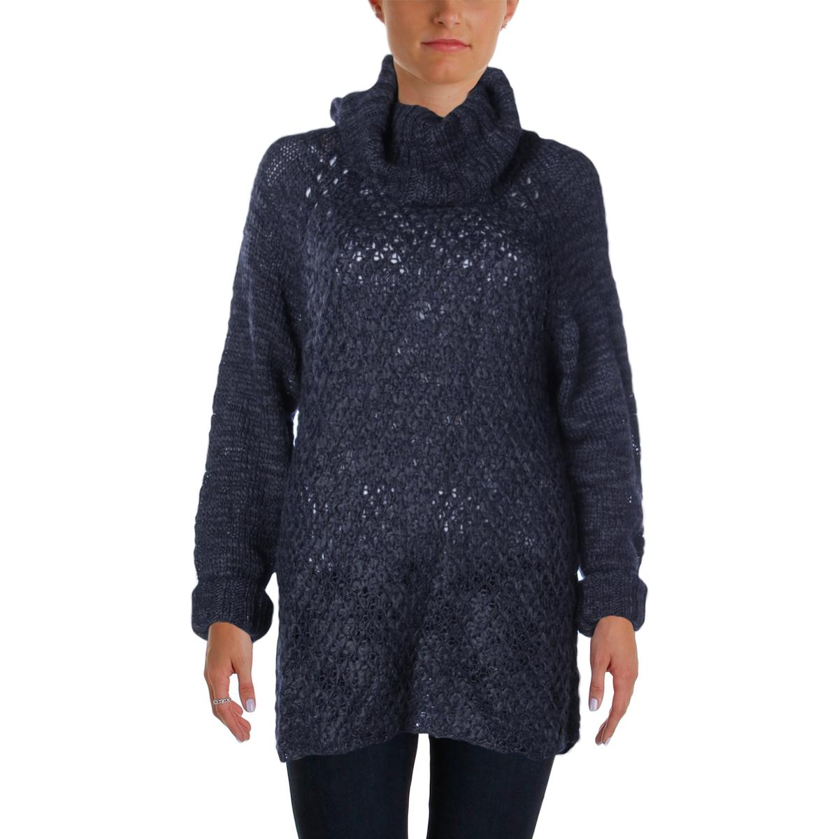 Sanctuary Womens Wool Blend Cowl Tunic Sweater by Womens Wool Coats