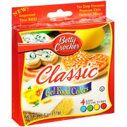 Betty Crocker Gel Food Colors - Classic - Case of 12 - 2.72 oz.