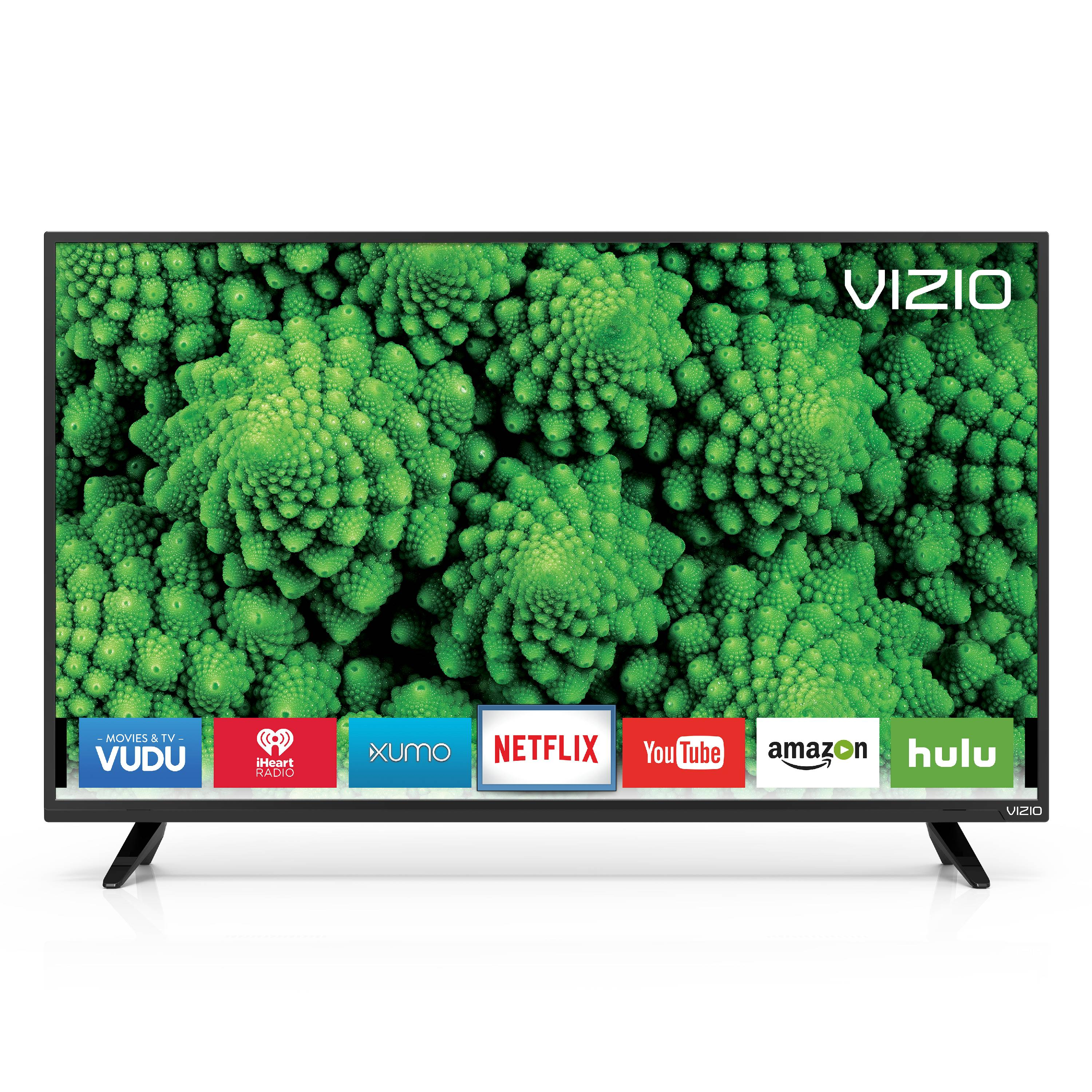 "Refurbished Vizio 40"" Class FHD (1080P) Smart LED TV (D40F-E1)"