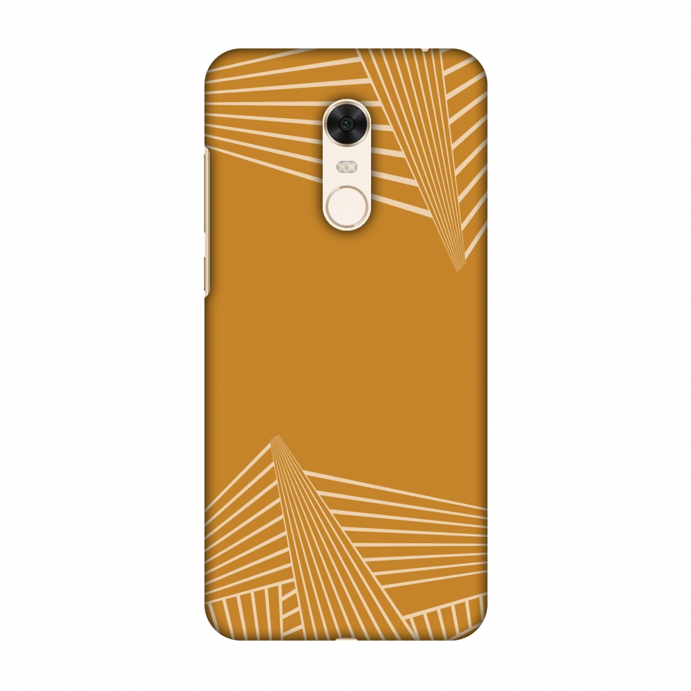 Xiaomi Redmi Note 5 Case, Premium Handcrafted Printed Designer Hard Snap On Case Back Cover with Screen Cleaning Kit for Xiaomi Redmi Note 5 - Carbon Fibre Redux Desert Sand 3