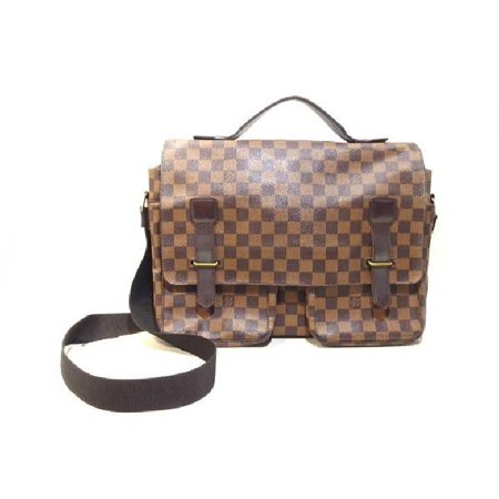 LOUIS VUITTON Louis Vuitton Damier Ebene Broadway 219916 Messenger (Louis Vuitton Damier Replica)