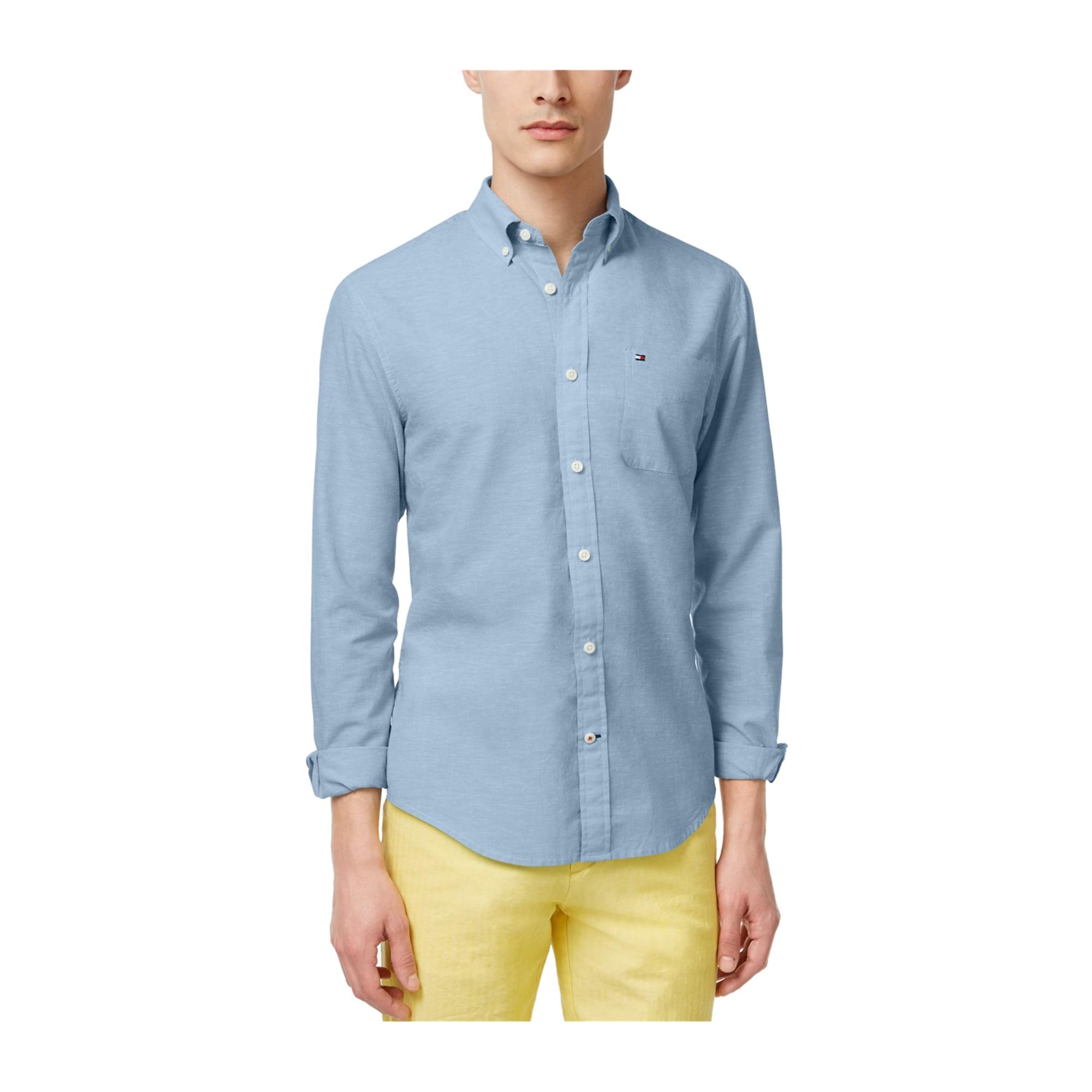 377328b9 Tommy Hilfiger Mens Southern Prep Button Up Shirt 466 2XL   Walmart Canada