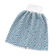 Bescita Natural Washable Baby Diaper 3 Layers-Infant Cotton Diaper Cloth Skirt